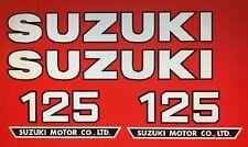 SUZUKI TS125 DECAL SET 2
