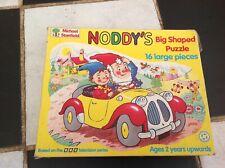 Noddy's Big Shaped Jigsaw Puzzle 16 Large Pieces 1992 MIB BBC TV ENID BLYTON