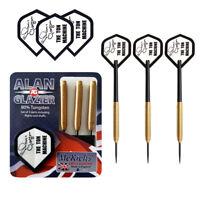 McKicks Alan Glazier, Gold Multi Shark Grip 80% Tungsten Darts Set in 24gram