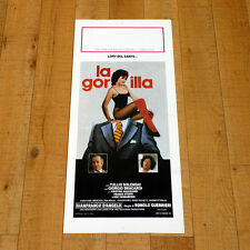 LA GORILLA locandina poster Romolo Guerrieri Bracardi Del Santo Solenghi AD55