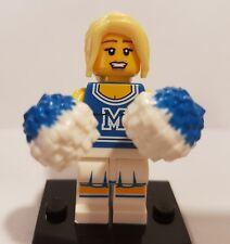 Genuine LEGO Minifigures Series 1 Football Américain Pom-Pom Girl Figure