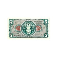 US MPC Series 641 5 Dollars vf-xf