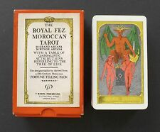 Vintage Moroccan Royal Fez Tarot Cards Deck Rider Waite Clone 1975 Rigel Press