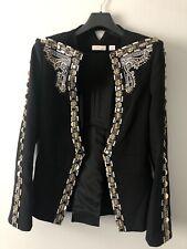 Sass & Bide Destiny of Dreams Embellished Jacket UK Size 10
