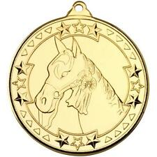 Equestrian Vortex Medal Achievement Award FREE DELIVERY With Ribbon AM975
