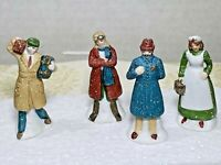 Dept 56 City Workers City People 4 PC 5697-0 Retired Heritage Village 1987