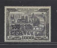 "REUNION - C41 - MNH - 1951 - ""500F CFA"" O/P ON AIR VIEW OF PARIS"
