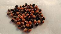 20  Agates à facettes perles semi-précieuses