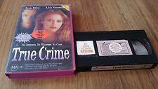 TRUE CRIME - KEVIN DILLON, ALICIA SILVERSTONE VHS VIDEO