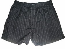NEU Identic tolle Boxer Shorts Gr. S / 4 schwarz-weiß gestreift !!