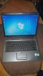 "Compaq Presario C700 Laptop Notebook 15.4"" 1GB 120GB Windows 7 Open Office"