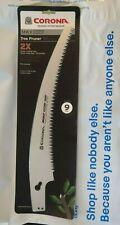 "Corona AC 7241 Razor Tooth Saw Tree Pruner Steel Alloy Blade, 13"""