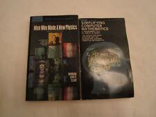 Men Who Made A New Physics by Barbara Lovett Cline (1965) 1st Printing Jan., 69