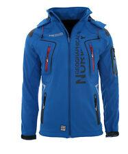 Geographical Norway Tangata hombre chaqueta Softshell lluvia Sport funcional XL azul Royal