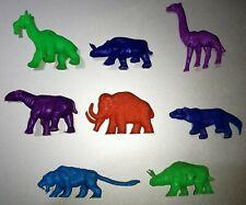 PREHISTORIC ANIMALS Cereal Premium Toys PERU COMPLETE SET PLASTIC NABISCO
