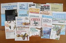 Lot 24 National Geographic Map Inserts 1973-2004 Most 1980s 1990s No Duplicates