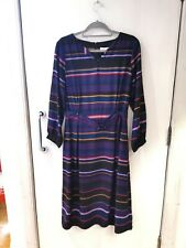 Thought Erland Dress Royal Purple Size 16 AW19 BNWT Sale