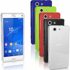 For Sony Xperia Z3 Compact Rigid Plastic Mobile Phone Bumpers