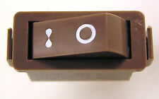 Arcoelectric C1400F T85 16A 250Vac Rocker Switch Brown On/Off 1 Piece MBF021c