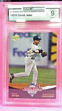 2008 upper deck Derek Jeter National Baseball Card Day #ud10  Mint 9