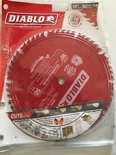 Table Saw Blade For Mitter Portable Tools 10-Inch 50-tooth ATB Combination NEW
