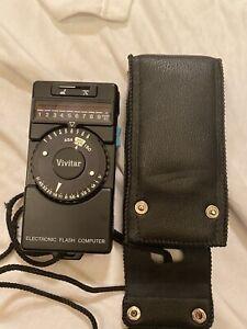 Vivtar Electronic flash computer and case