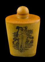 Bottiglia Bottiglietta Boccetta Arte Shunga Erotico Giapponese Curiosa 25359 E7