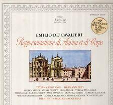 Cavalieri-Rappresentatione Di Anima, Troyanos, Prey, Mackerras, archivio 2 LP