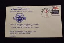 DRW NAVALCOVER #156 CHANGE OF COMMAND USS KENTUCKY (SSBN-737) 1992 HAND CANCEL