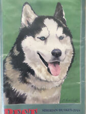 "Best/Breed~�Siberian Huskey�~Lg.28""x40& #034;~Indoor/Outdoor~2 Layers~Usa~Fast Ship."