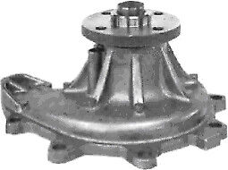 Protex Water Pump PWP6013 fits Volvo C30 2.4 i