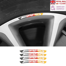 AMG Brabus Mercedes Wheel Badges x4 German Colours