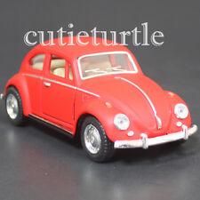 Kinsmart 1967 Classic VW Volkswagen Beetle Bug 1:32 Diecast Toy Car Matte Red