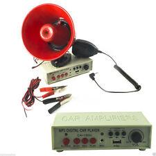 Megafono Altoparlante Auto 12v USB Musica Micro SD Amplificatore Registratore