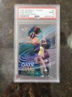 1996 SKYBOX E-X2000 STAR DATE 2000 #3 KOBE BRYANT PSA 9 MINT ROOKIE CARD