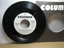 Old 45 RPM Record - Columbia 38-08066 - Willie Nelson - Spanish Eyes (bothsides)