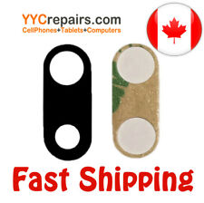 """iPhone 7 Plus 5.5"""" Rear Back Camera Glass Lens Replacement with Adhesive tape"""