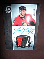 07-08 THE CUP Nick Foligno AUTO 3CLR PATCH RC 144/249 Autograph Rookie