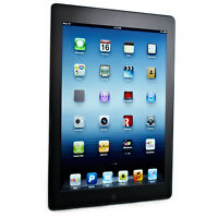 Apple iPad 3rd Gen. 32GB, Wi-Fi + Cellular Unlocked 9.7in Black. Tested Preowned