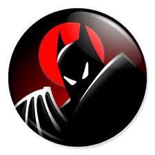 "Batman Cartoon 25mm 1"" Pin Badge Button DC Comics Superhero Classic"