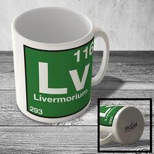 MUG_ELEM_141 (116) Livermorium - Lv - Science Mug