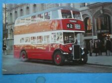 POSTCARD MANCHESTER CORPORATION 1949 CROSLEY DD42/8S BUS