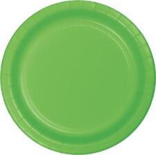 Decoración y menaje platos color principal verde para todas las ocasiones para mesas de fiesta