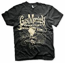 Offiziell Gas Monkey Garage Schraubenschlüssel Label T-Shirt
