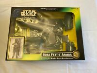 STAR WARS THE POWER OF THE FORCE BOBA FETT'S ARMOR  KENNER 1997 MIB