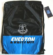 NEW EVERTON FC CORE FOOTBALL GYMSAC SACK BAG SCHOOL PE GYM