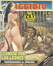 RELATOS DE PRESIDIO MEXICAN COMIC #692 MEXICO SPANISH HISTORIETA 2008 CRIME