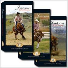 JOSH LYONS - Performance Series - 3 DVD Set - Horse Training
