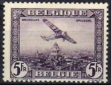 Belgie * LUCHTPOST-POSTE AERIENNE-PA/LP5-Lila-1930-Cat 32.5€-FOKKER Vliegtuig/Pl
