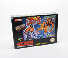 SATURDAY NIGHT SLAMMASTERS   SUPER NINTENDO SNES PAL ESP